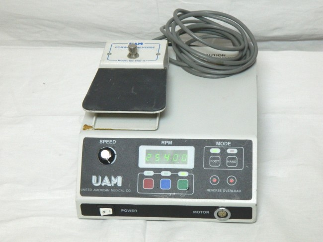 UAM Console W/ FootSwitch
