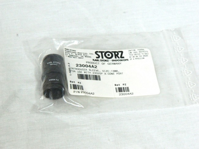 Karl Storz 23004A2 Introducer sleeve size 13mm for use with 23020P