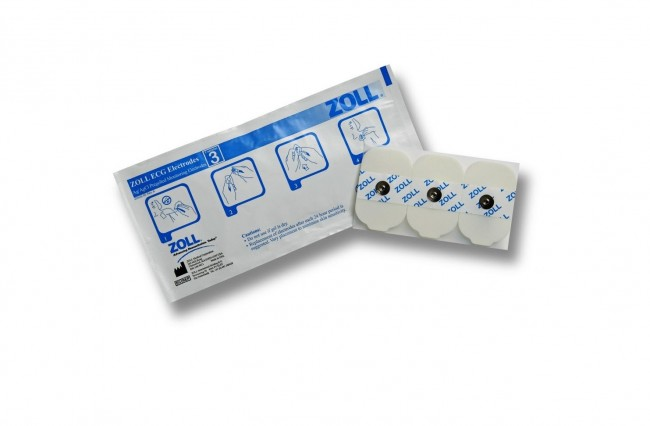 ZOLL 3 ECG Electrodes/Pouch 8900-0003