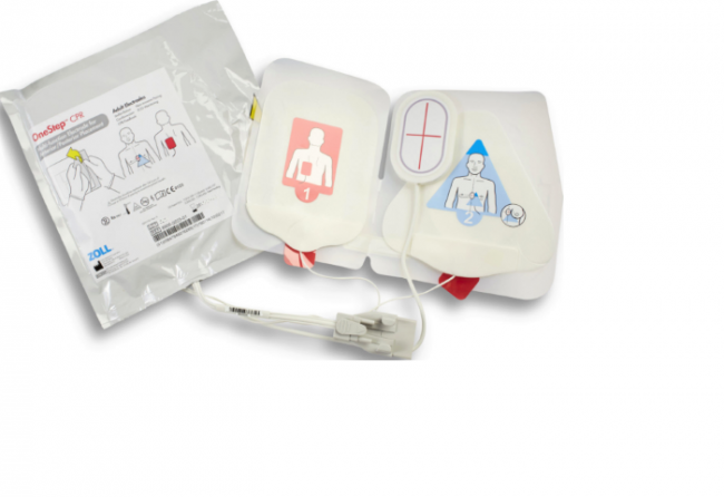 Case Of Onestep CPR Resuscitation Electrode Pads