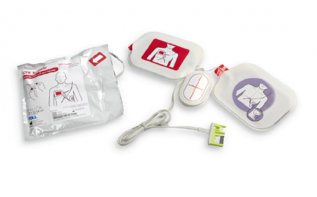 Zoll Stat Padz HVP Multi-Function CPR FeedBack Electrodes