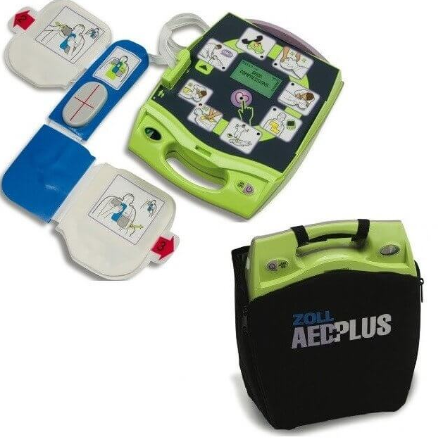 brand new zoll aed plus package