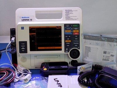 lifepak 12 monitor with hard paddles