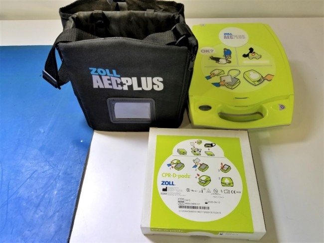 package of zoll aed plus