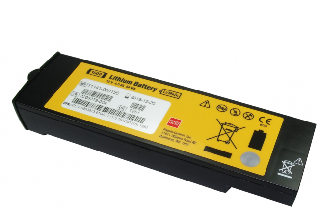 LIFEPAK 1000 LMnO2 Non-Rechargeable Battery (PCBATT)