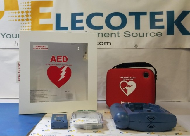Philips Heartstart HS1 AED With Cabinet 5 Year Warranty