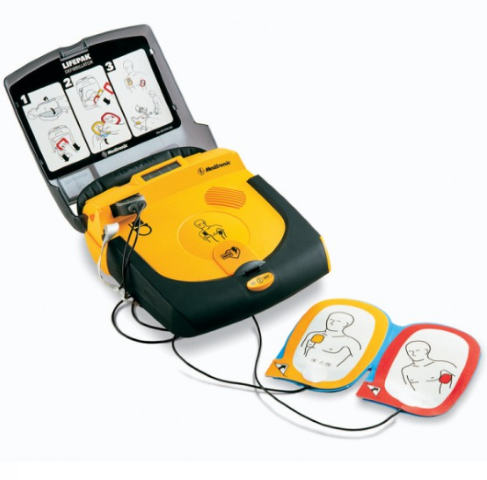 Physio Control LIFEPAK CR Plus AED Kit Fully automatic AHA voice prompt 80403-000149