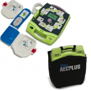ZOLL Semi-Automatic AED Plus with Medical Prescription. ZOLL Part# 8000-004000-01 (Default)