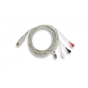3-Lead ECG Patient Cable (12 Ft)