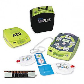 OLL Fully Automatic AED Plus with PlusTrac Professional5. ZOLL Part# 8000-004011-01