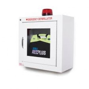 ZOLL AED Plus Accessories Standard Metal Wall Cabinet with Strobe Light  ZOLL Part # 8000-0738