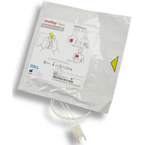 One Step Basic Resuscitation Electrode Pads Single (1 pair)