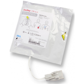 Single OneStep CPR AA Electrode Pads