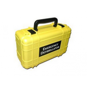 Defibtech Lifeline Deluxe Hard Carrying Case in Yellow