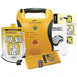 Defibtech Lifeline Automatic AED with High Capacity Battery Package   DCF-A130RX-EN