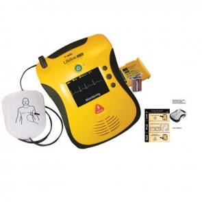 Defibtech Lifeline ECG Semi-Automatic AED FAA Approved Package