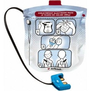 Defibtech Lifeline View/ PRO/ ECG DDU Series Pediatric Defibrillation Pads DDP-2002