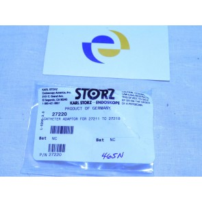 Karl Storz 27220 Catheter Adaptor For 27211 To 27218