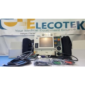 lifepak 12 defibrillator lcd screen unit
