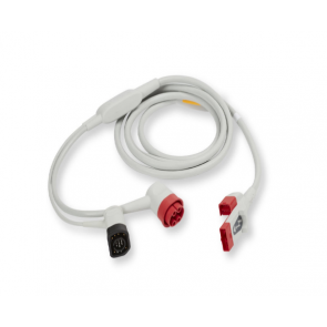 Zoll Medical OneStep Pacing Cable (Supports both Real CPR Help and OneStep Pacing) 8009-0750