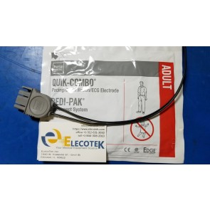 Physio-Control LIFEPAK AED Defibrillator Pre-Connect Pads 11996-000017