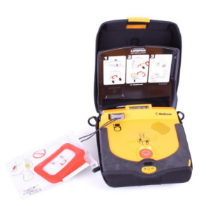 Physio Control LIFEPAK CR Plus AED Kit Semi-automatic AHA voice prompt 80403-000148