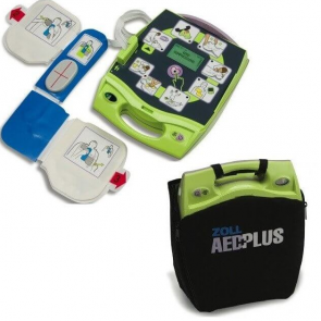 recertified zoll aed plus package with cpr padz batteries and case