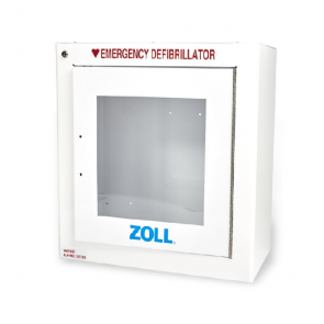 Standard Metal Wall Cabinet With ZOLL Logo 8000-0855