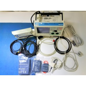 Zoll M Series Monitor BLS 12 Lead NiBP etCO Cap SPO2 Pacer