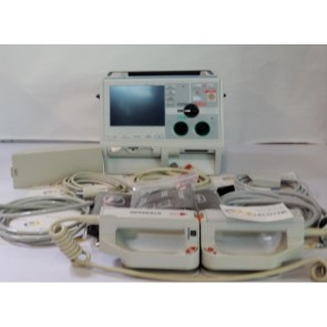 zoll m series defibrillator with hard paddles