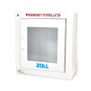 ZOLL AED Plus Accessories Standard Metal Cabinet -Alarmed 8000-0855