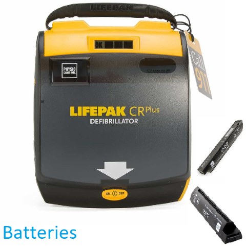 Physio Control LIFEPAK CR Plus Batteries