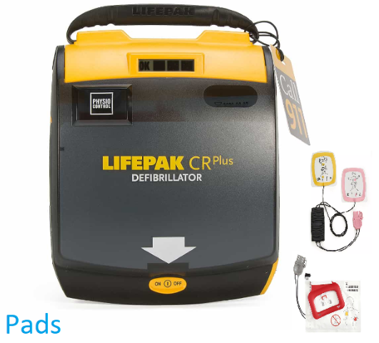 Physio Control LIFEPAK CR Plus Pads/Electrodes