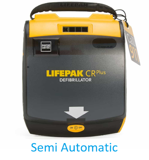 Physio-Control LIFEPAK CR Plus Semi Automatic