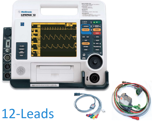 Physio-Control LIFEPAK 12 12-Leads Defibrillators/Monitors