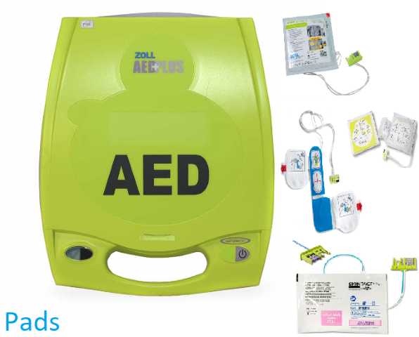 ZOLL AED Plus Pads