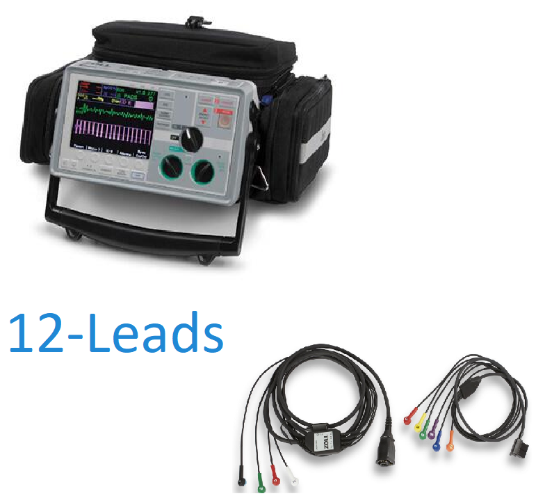 Zoll E Series Defibrillators/Monitors 12 Leads