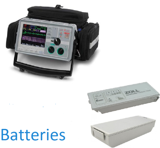 Zoll E Series Defibrillators/Monitors Batteries