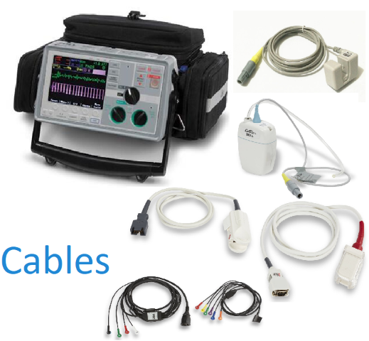 Zoll E Series Defibrillators/Monitors Cables